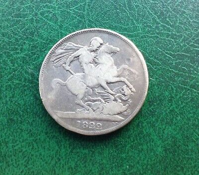 George IV 1822 Silver Crown Coin.