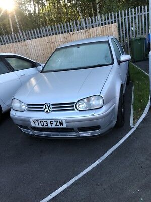 VW Golf MK4 V6 4Motion LOW MILAGE 2 OWNERS NO OFFERS BELOW AUCTION STARTING PRIC