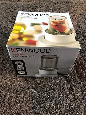 Kenwood Chef/Major Glass Multi-Mill attachment AT320B