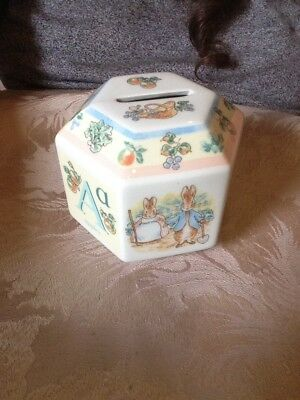 Beatrix Potter Money Box