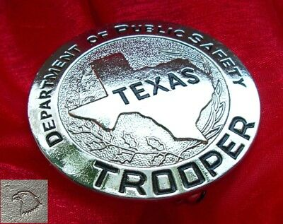§ / Historisches Abzeichen - Texas Trooper - Department of Public Safety