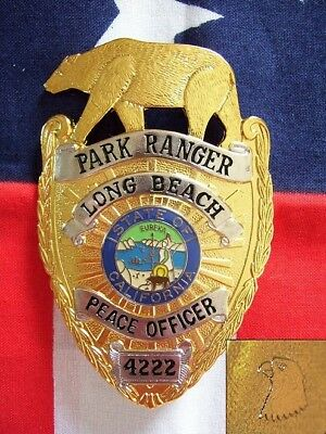 § / Historisches Abzeichen - California Long Beach Park Ranger