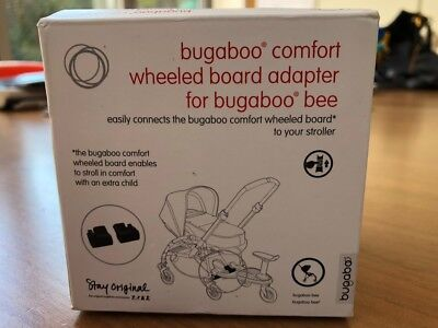 New Bugaboo Bee Adapters For Wheeled Comfort Board Part 880590