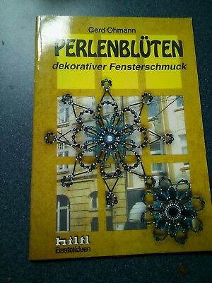 Beaded Flowers and decorative window decorations using wire German beading book