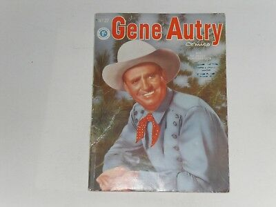 Gene Autry Comics  #27  Uk Edition  Thorpe & Porter  68 Pages, 1/-Good Or Better