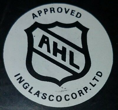 1994-95  Worcester Ice Cats Ahl Vintage Official Inglasco Slovakia Hockey Puck
