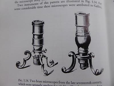 1960s EARLY HISTORY OF THE MICROSCOPE VARIOUS VERY EARLY MODELS 2 MODERN A1 BOOK