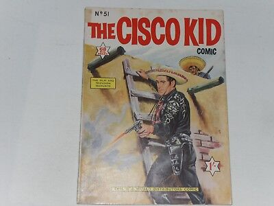 The Cisco Kid  #51  W.d.l.      Uk Edition   68 Pages, 1/-   Very Good Or Better