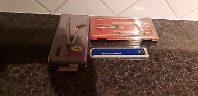 Rotring/Other Drawing/Compass sets + Staedtler leads - see pictures