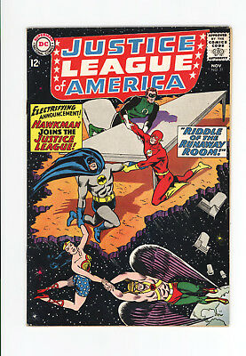 Justice League Of America #31 - Nice Book - Riddle Of The Runaway Room! 1964