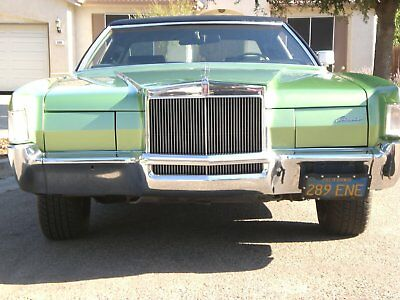 1972 Lincoln Mark Series  1972 lincoln mark iv