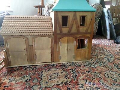 Horse Stable Wooden Maxim Sally Fair Barn 3 Buildings Fits Breyer 36657