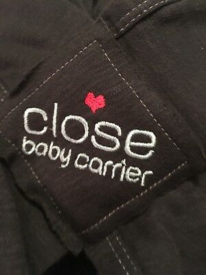 Close Baby Carrier - Organic Cotton Charcoal
