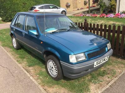 1992 Vauxhall Nova 1.4 Luxe + 86,000 miles 2 owners very clean car