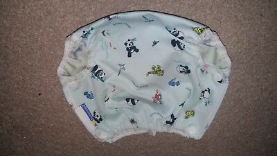 USED - Mother ease Nappy Wrap Air Flow Medium - Animals