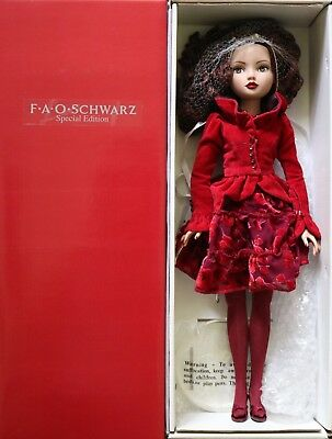 """Tonner Wilde Imagination 16"""" Ellowyne Wilde Doll """"Red to Lift Her Mood"""" Complete"""