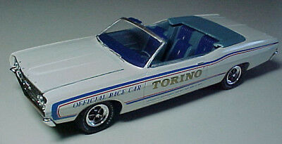 Modelhaus 1968 Ford Torino Convertible Pace Car Model Car Pro Built VERY RARE!
