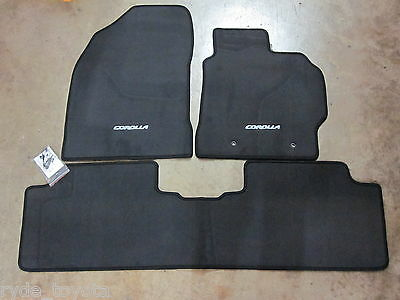 Corolla Sedan Carpet Floor Mats 3/2007 To 12/2013 **toyota Genuine Parts**
