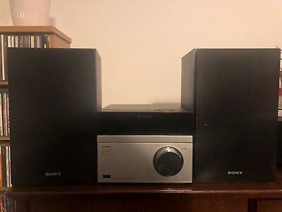Sony CMT-S20B DAB+ Audio Shelf System CD-Player USB