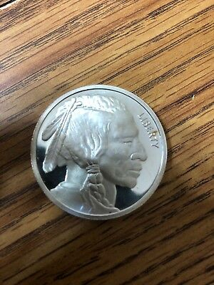 2015 Buffalo Indian 1OZ .999 Silver Coin