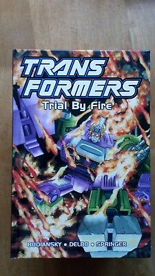 Transformers Trial by Fire Titan Books hardcover
