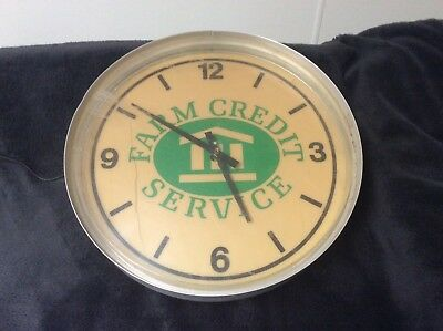 Vintage Advertising Electric Wall Clock