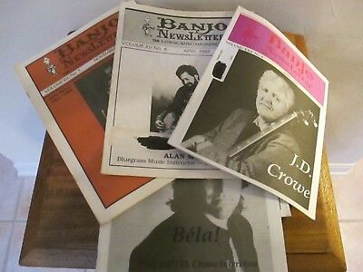 Banjo Newsletters....good condition