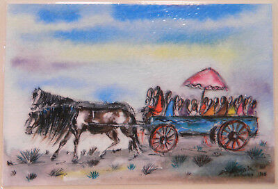 Vintage DeGrazia Print  Arizona 1968 >>