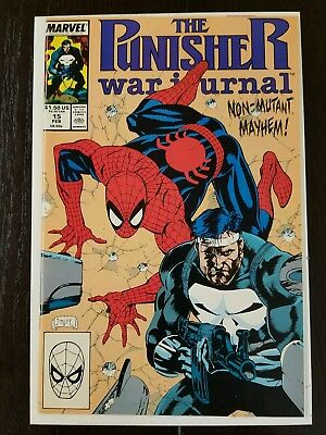The Punisher War Journal #15 (Marvel, February 1990) NM 9.8 Combined Shipping