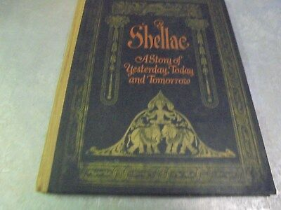 Vintage 1924 Advertising Book James B. Day Shellac co.