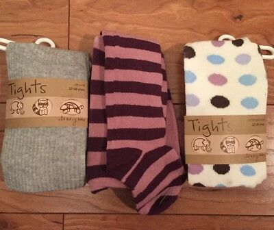 New Old Navy 12 18 24 Tights Lot Girl Toddler Sweater 3pr
