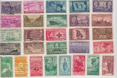 UNITED STATES 1930's & 40's Collection on Page REMOVED for Shipping MINT/USED