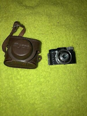 VINTAGE 1950's Mycro IIIA subminiature camera, Sanwa Co. Ltd. NICE!!!!