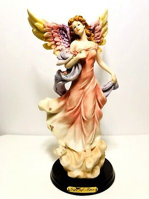 """Giuseppe Armani Style  """"Gift of Time"""" Angel Figurine - Mint Condition - RARE"""