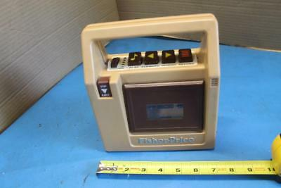 Vintage Fisher-Price Brown Plastic Tape Player Recorder 1980 #826
