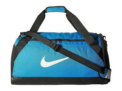 Roll over image to zoom in  NIKE  Nike Brasilia (Small) Training Duffel Bag Blue