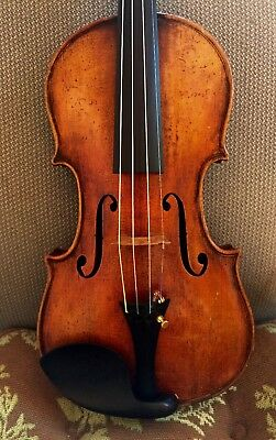 Beautiful Old antique 4/4 Italian Guarnerius model violin ,circa 1800's