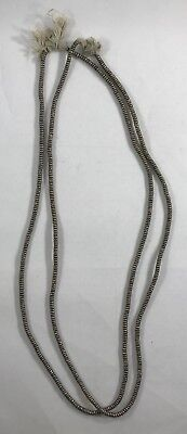 Old Vintage Silver Heishi Ethiopian Beads