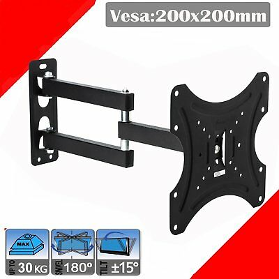 Full Motion TV Wall Mount Articulating 24 32 37 39 40 Inch LED LCD Flat Screen