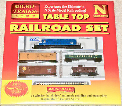 Micro-Trains N Scale EMD SD-38-2 Freight Set, Factory Sealed, 1998, Kato