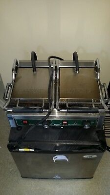 Waring Commercial WPG300 Panini Ottimo™ Dual Panini Gril - Used 0689998311031