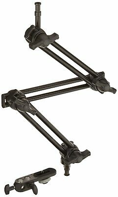 Brand New Manfrotto 396B- 3 3 Section Double Articulated Arm with Camera Bracket