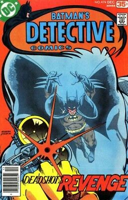 Detective #474 (8.5) 1St Appearance Of Deadshot Newstand!