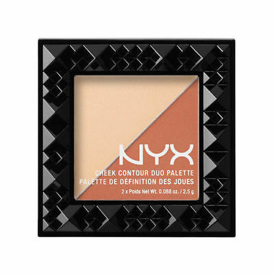 NYX Cheek Contour Duo Palette CHCD03 Perfect Match ~ New & Sealed