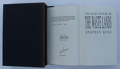 STEPHEN KING: THE WASTE LANDS, signed, limited edition