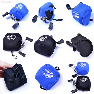A3B6 5C60 Elastic Fishing Reel Nylon Bag Sea Reel Protective Case Cover Tool Kit