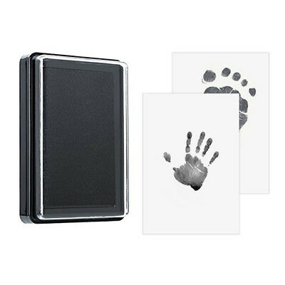 Newborn Footprint Ink Pad Handprint 100% Non-Toxic Clean-Touch Lovely Gift DF