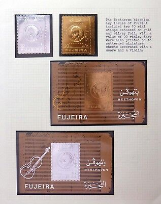 FUJEIRA Gold & Silver Foil for Beethoven BF638