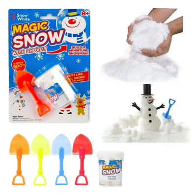 Instant Xmas Magic Snow Powder shovel Reusable Christmas Decoration 10g pot