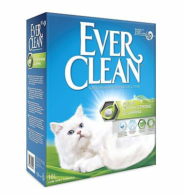 Ever Clean Clumping Cat Litter Extra Strong Large Granule 10 Litre Free P&P NEW